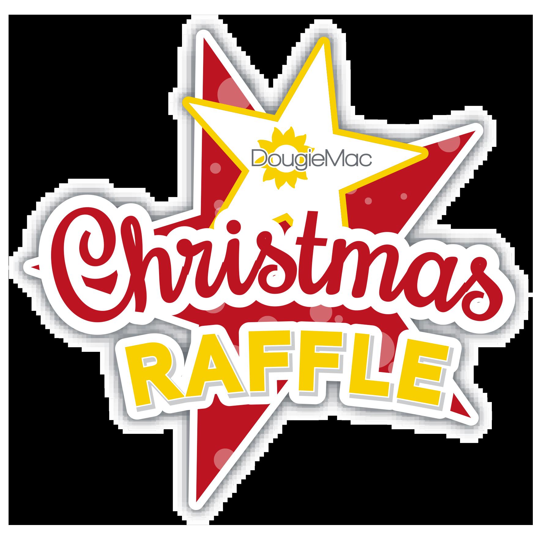 Dougie Mac Launches Christmas Raffle 2018.