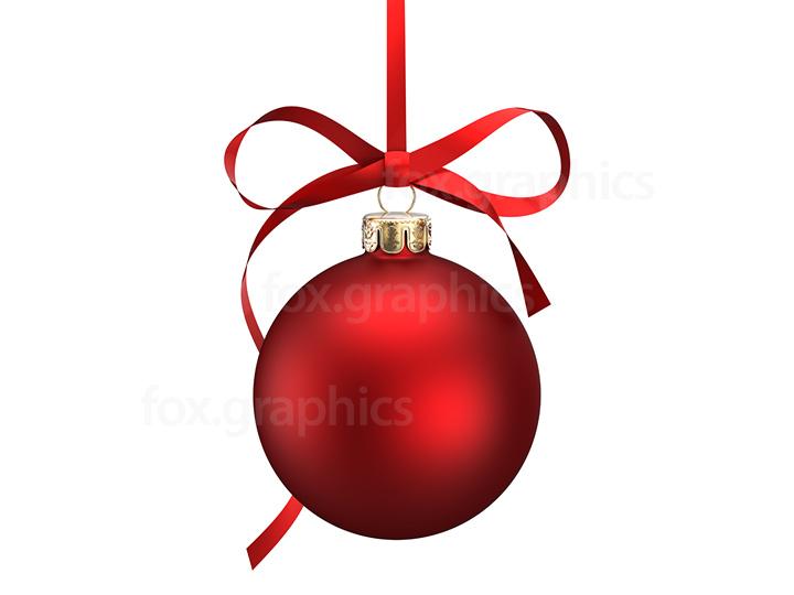 Christmas ball PNG.