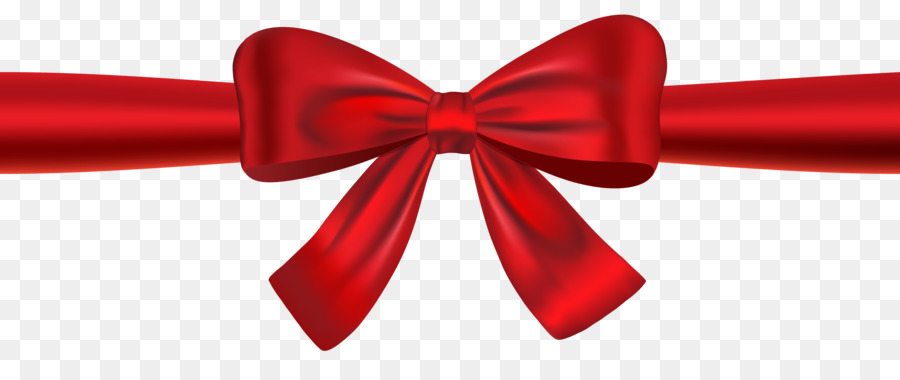 Red Christmas Ribbon clipart.