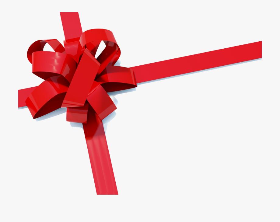 Christmas Ribbon Paper Gift Clip Art.