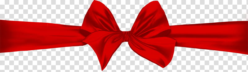 Christmas ribbons, red ribbon transparent background PNG.