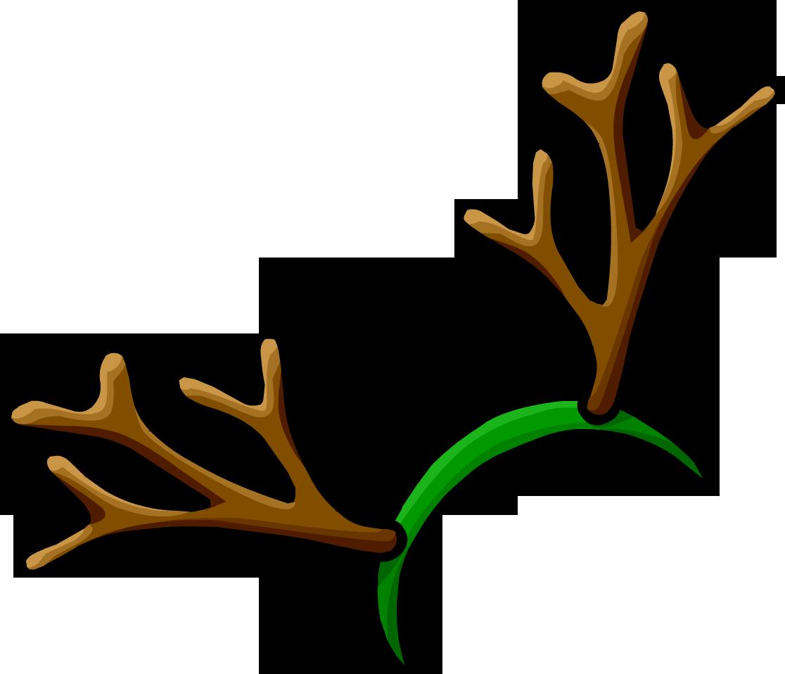 reindeer antler printable.
