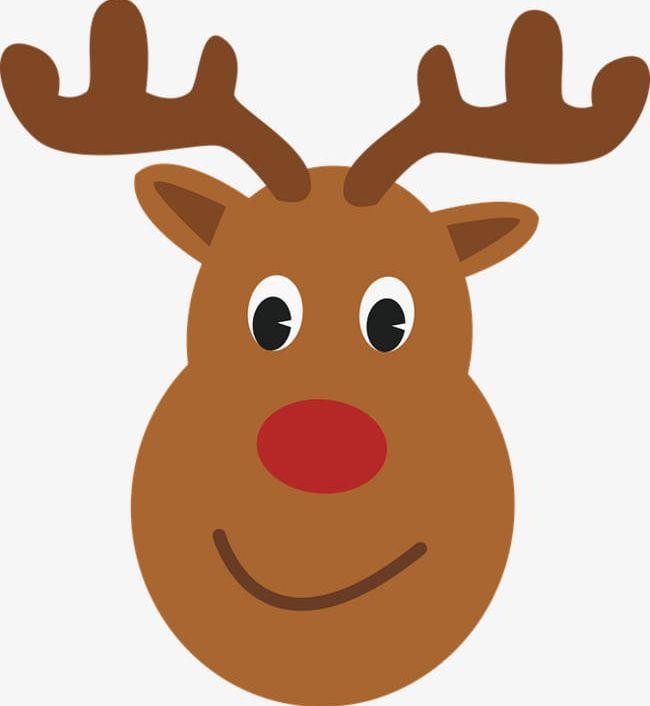 Cute Moose Head PNG, Clipart, Christmas, Claus, Cute Clipart.