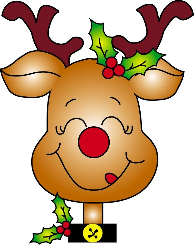Christmas Reindeer Clipart Signs Deer Likeable Free New 5.