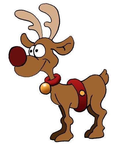 Christmas reindeers santa and reindeer clipart clip art library.