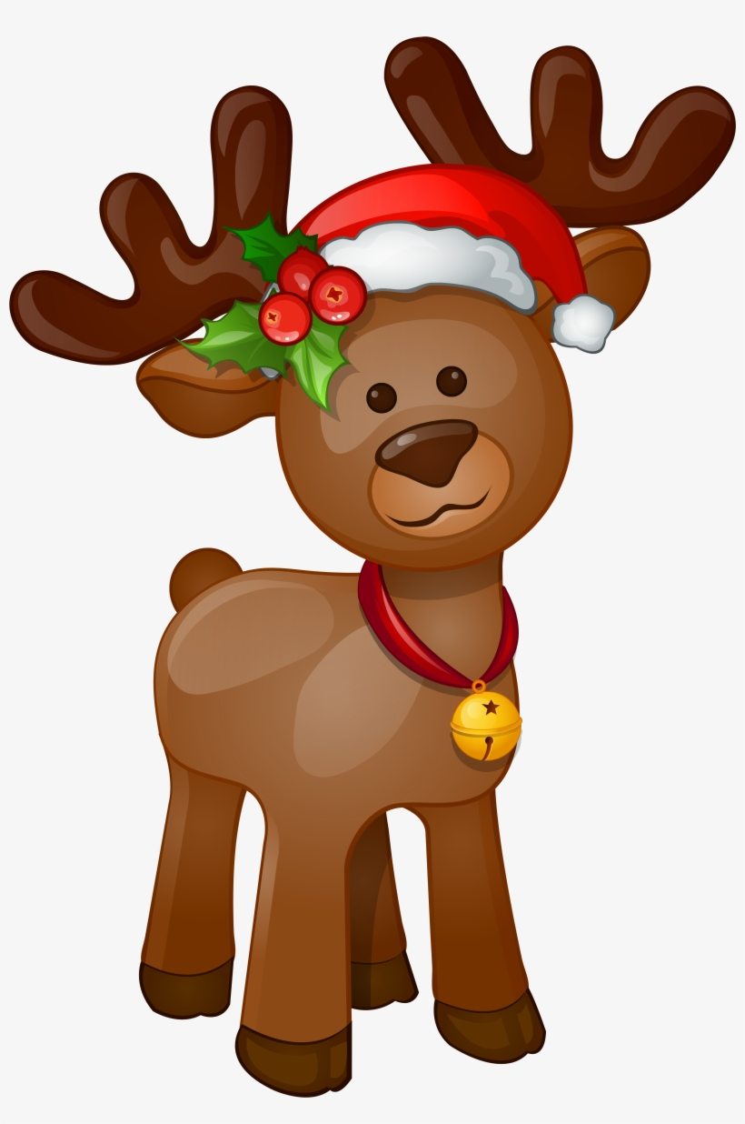 Christmas Reindeer Png Clipart Freeuse Download.