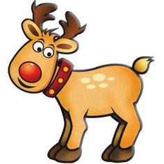 103+ Christmas Reindeer Clipart.