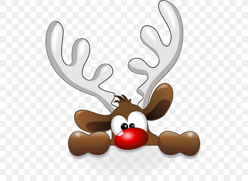Rudolph Reindeer Santa Claus Clip Art, PNG, 518x600px.
