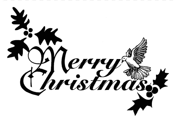 Christmas Religion , Free Black And White Christmas PNG.