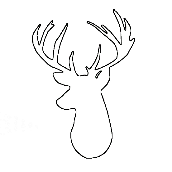 Christmas rheen deer clipart.