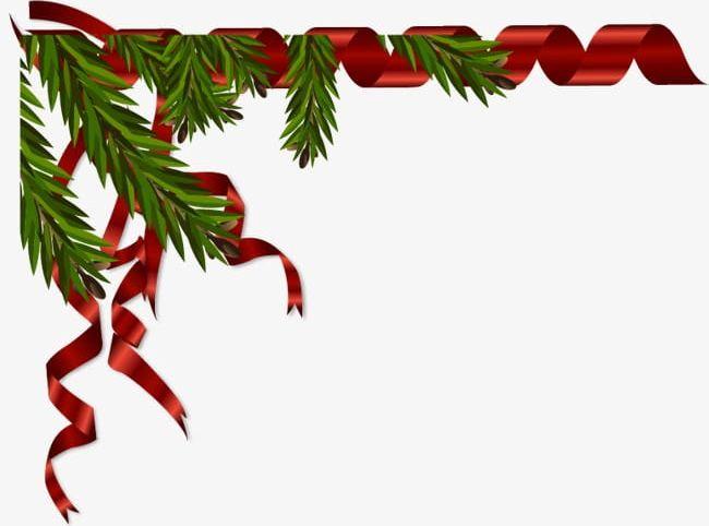 Christmas Ribbon Border PNG, Clipart, Border Clipart.