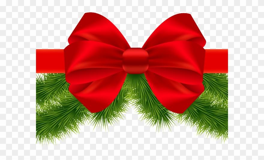 Christmas Ribbon Clipart Drum.