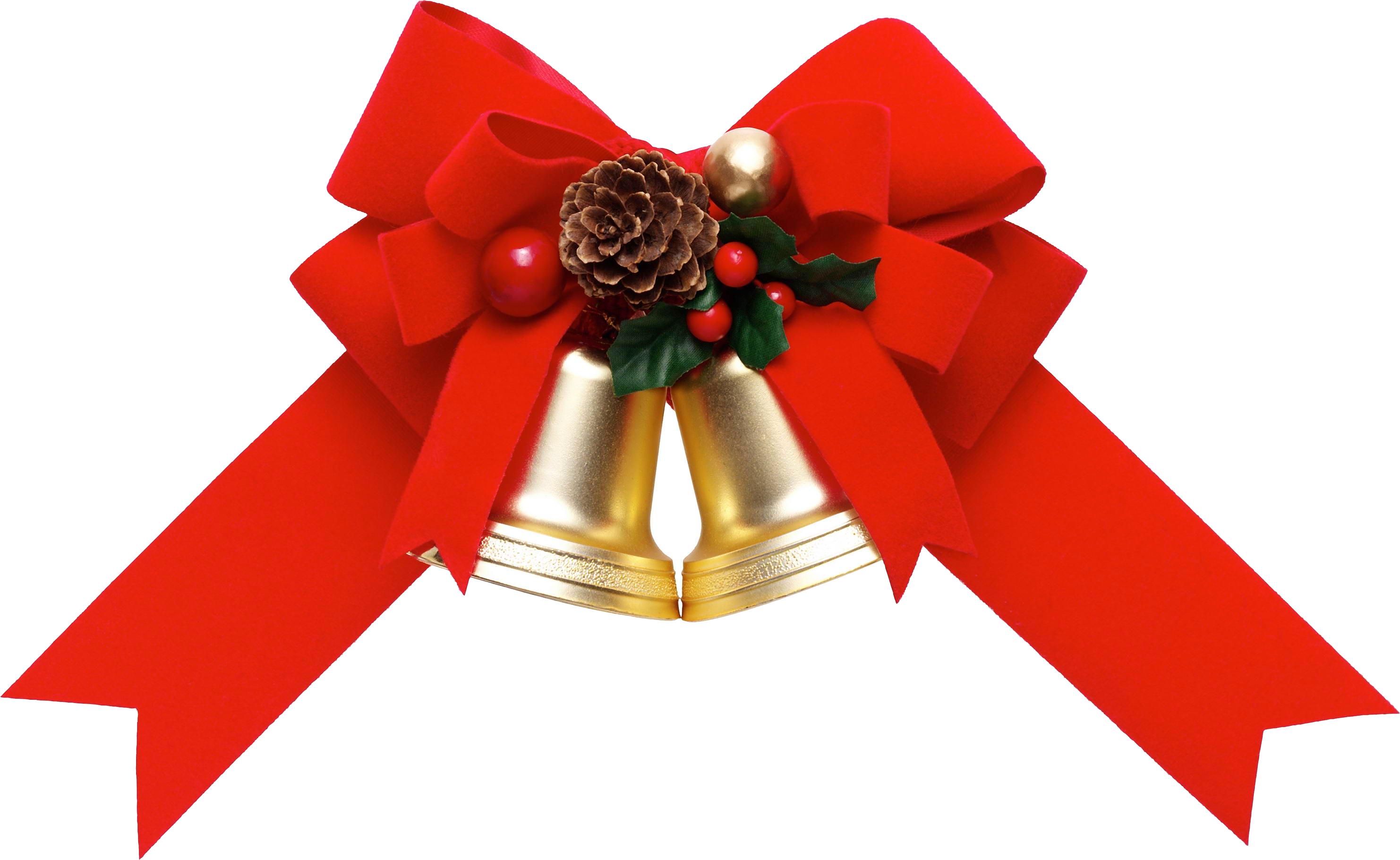 Christmas Ribbon Png Pic.