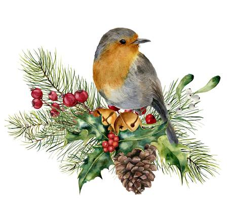 1,793 Christmas Robin Stock Illustrations, Cliparts And Royalty Free.