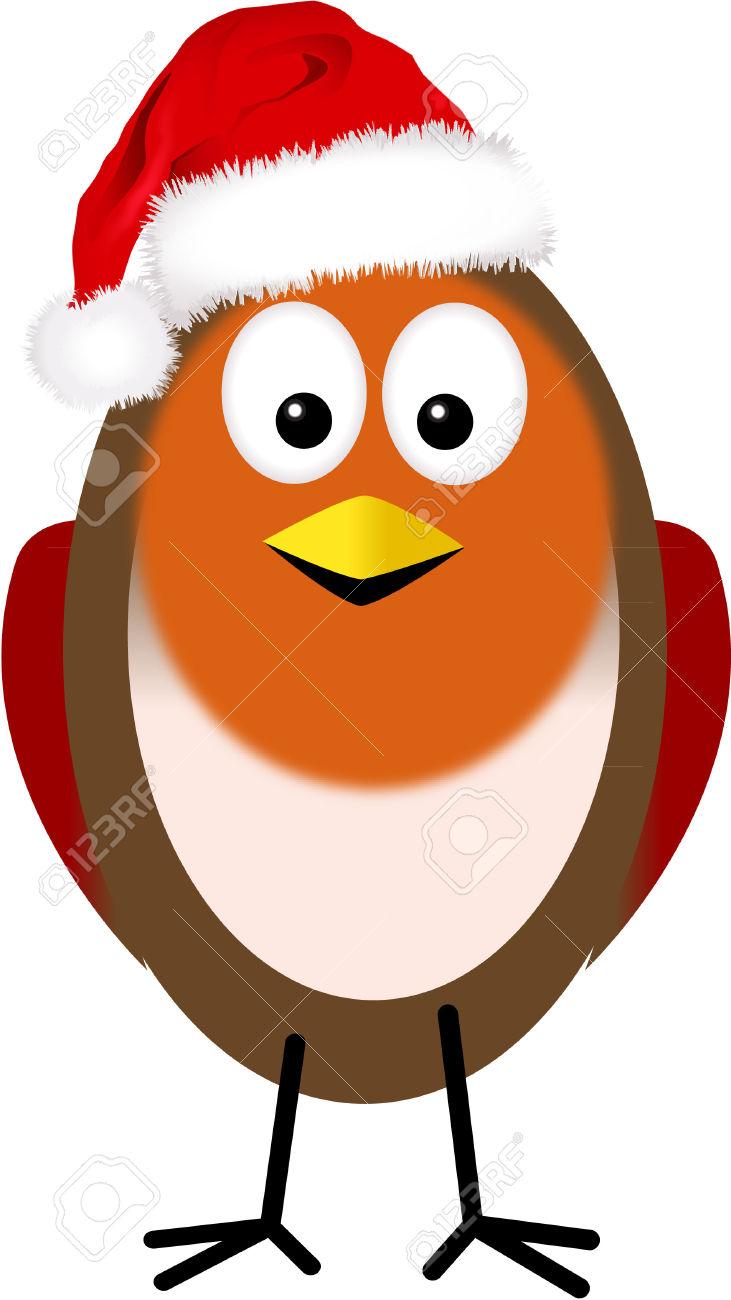 Christmas robin clipart 1 » Clipart Station.