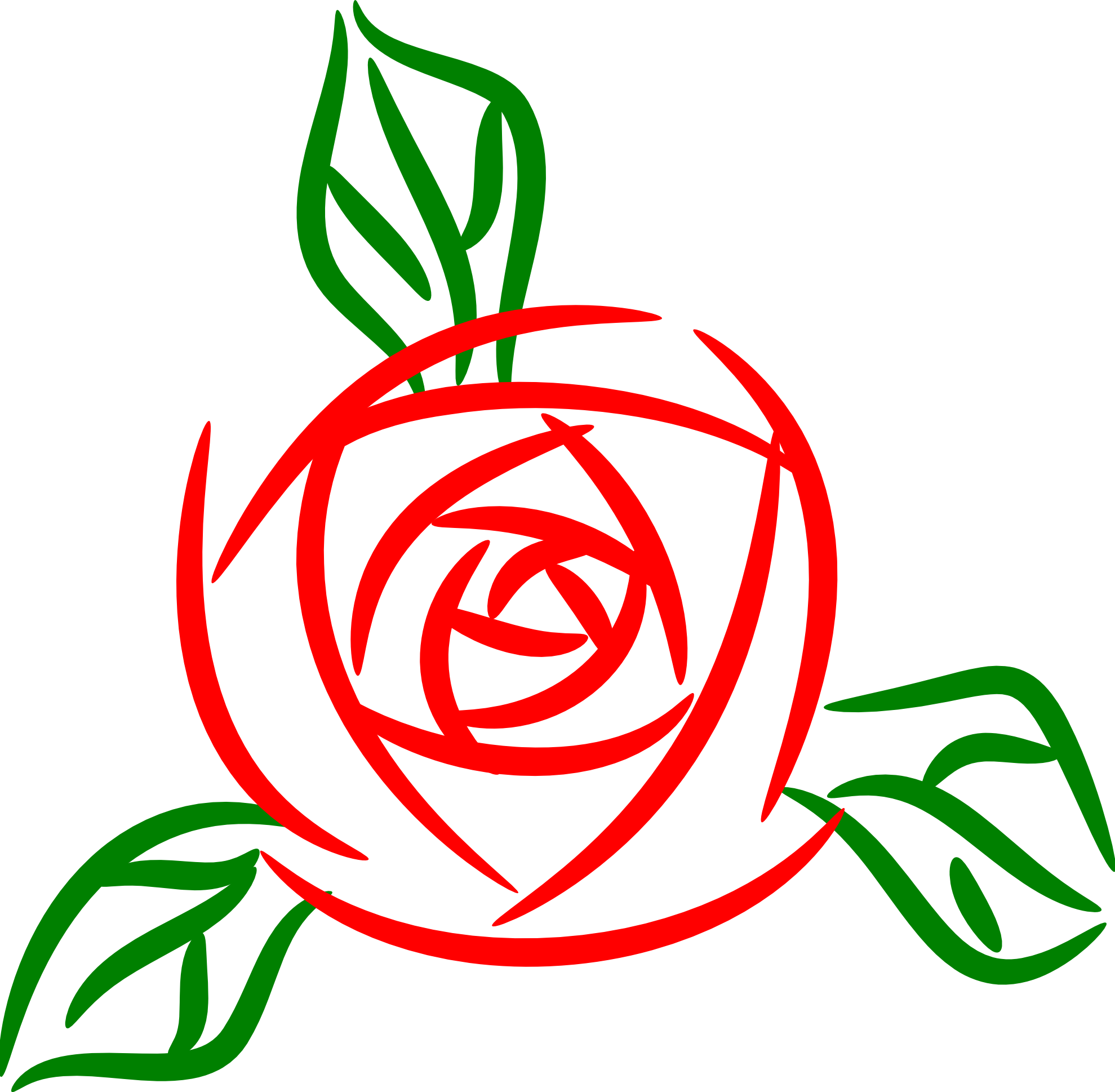 Christmas rose clipart.