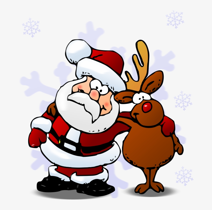Transparent Christmas Rudolph Clipart Xmas Pictures.