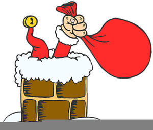 Father Christmas Rudolph Clipart.