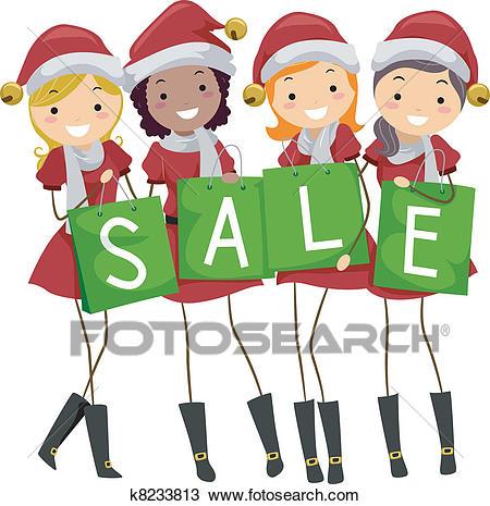 Christmas Sale Clipart.
