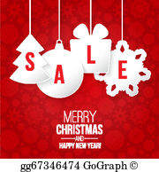 Christmas Sale Clip Art.