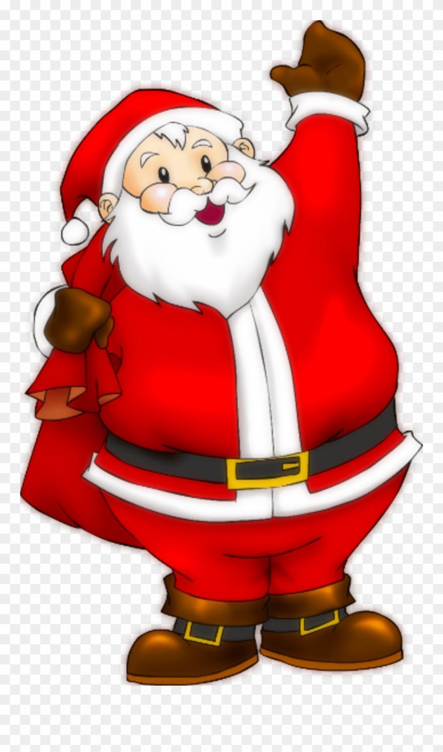 Christmas Santa Clip Art.