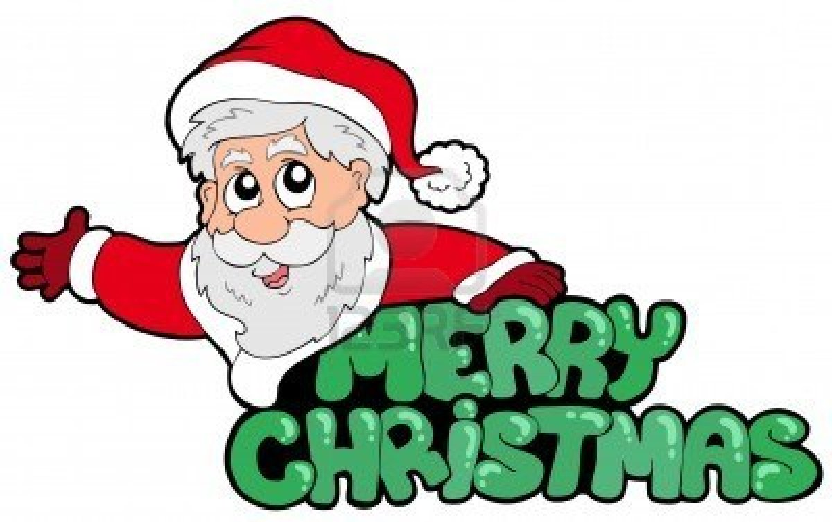 Merry christmas santa clip art new hd template images image #10637.