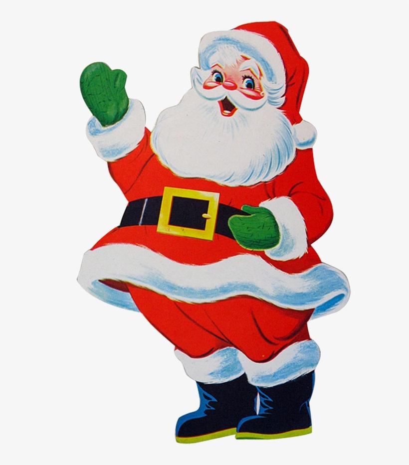 Transparent Santa Clipart.