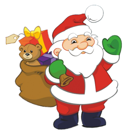Clipart Father Christmas Santa Claus.
