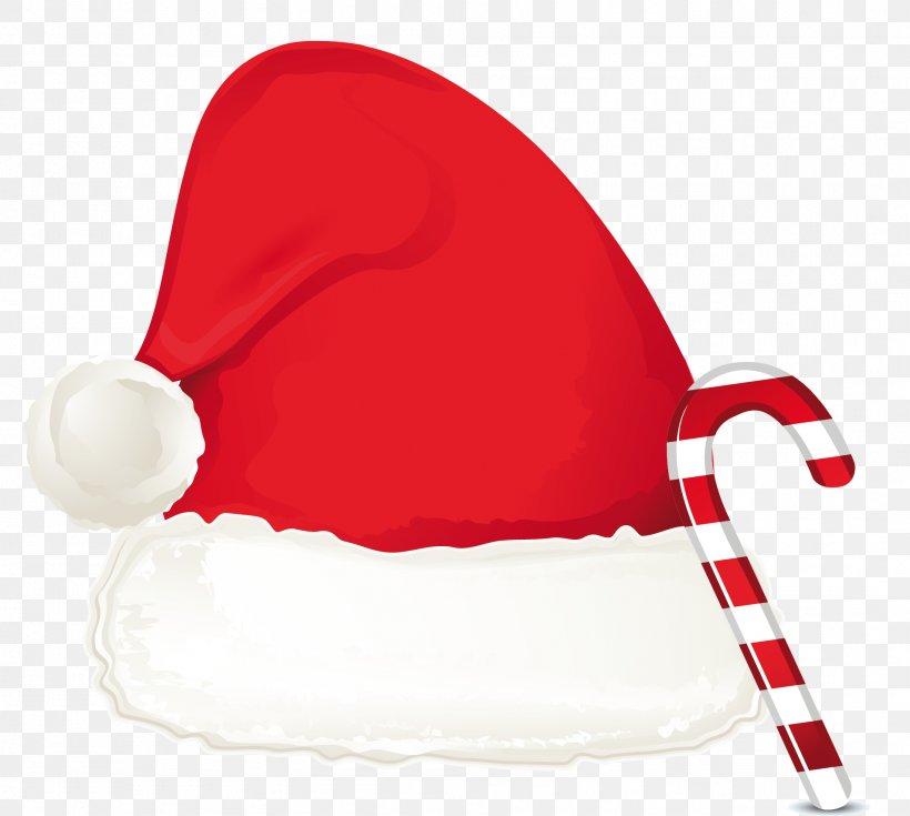 Santa Claus Hat Christmas Clip Art, PNG, 1908x1712px, Santa.