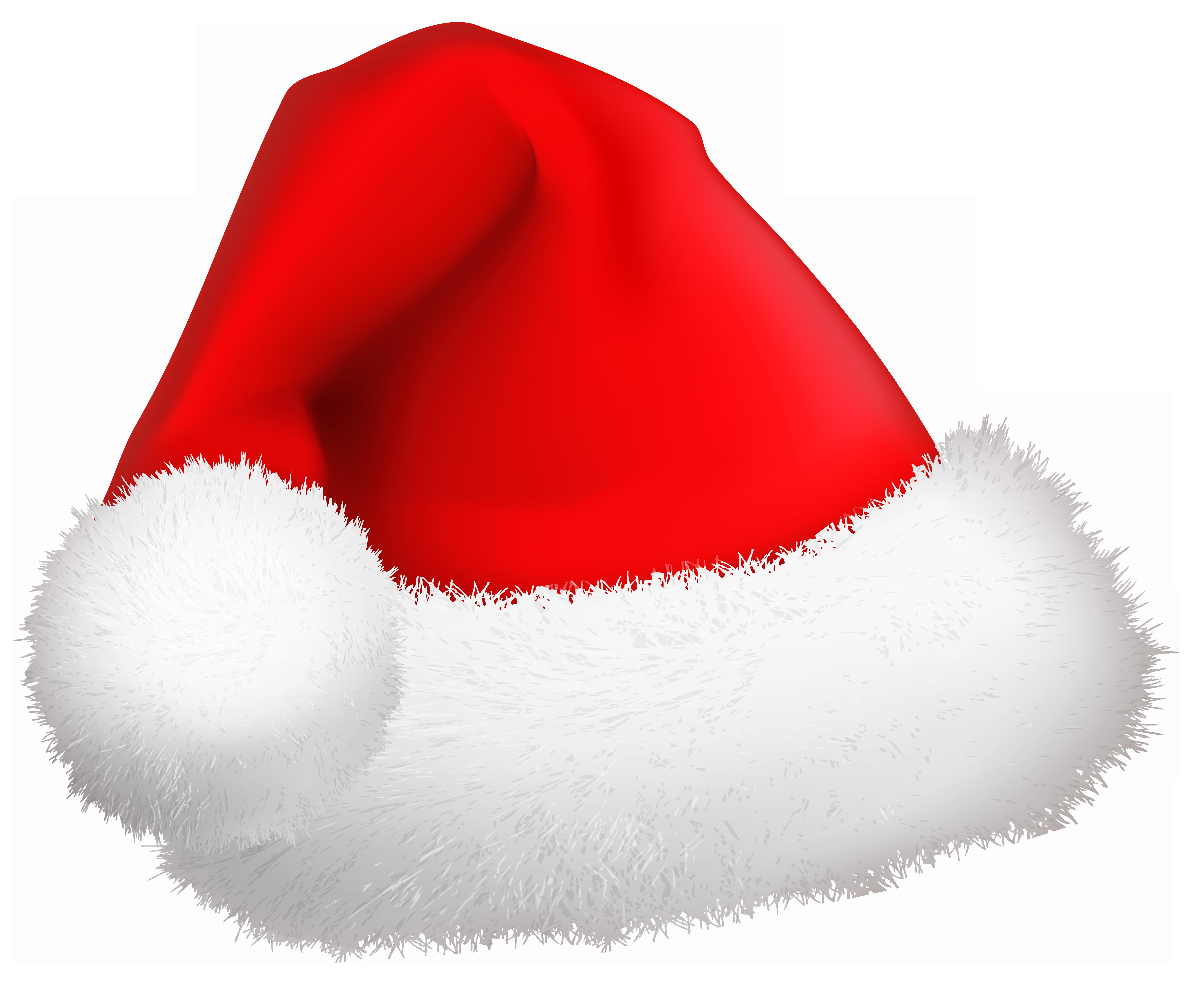 Christmas Santa Hat PNG Clip.