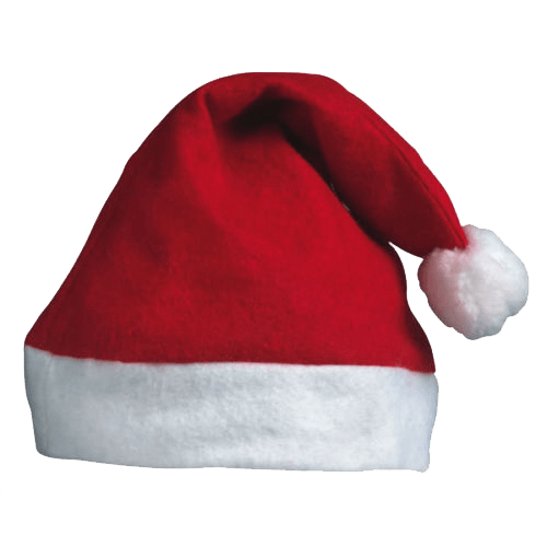 Christmas Santa Hat transparent image.