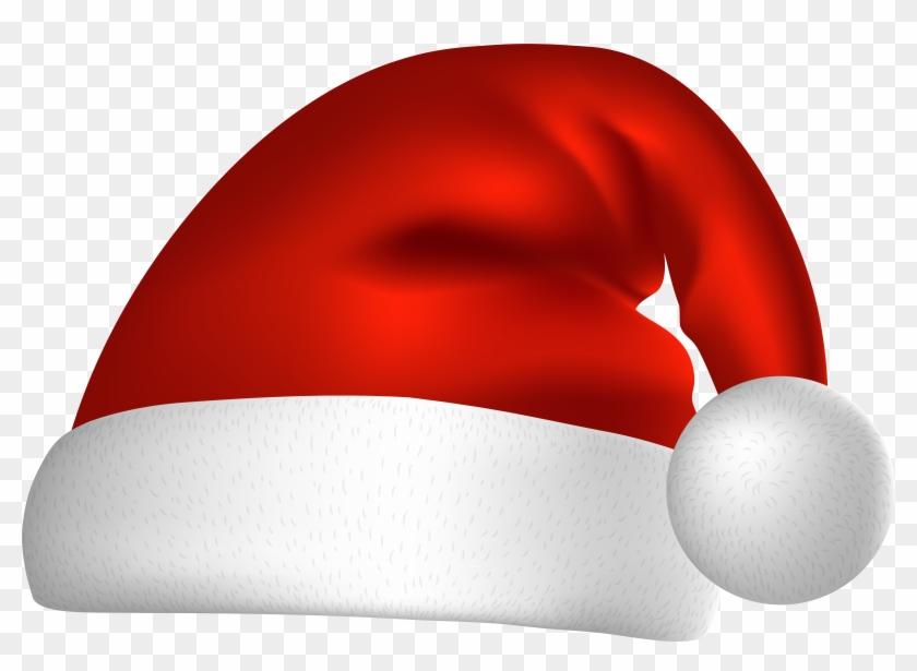 Christmas Santa Hat Png Clip Art Image.