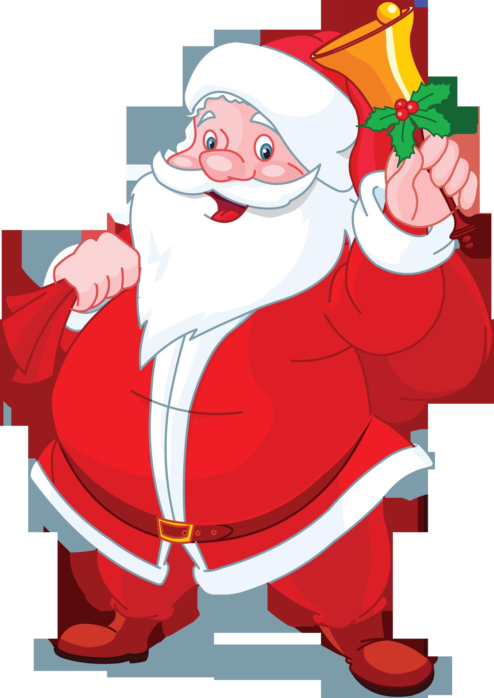 Santa Claus PNG Transparent Images.