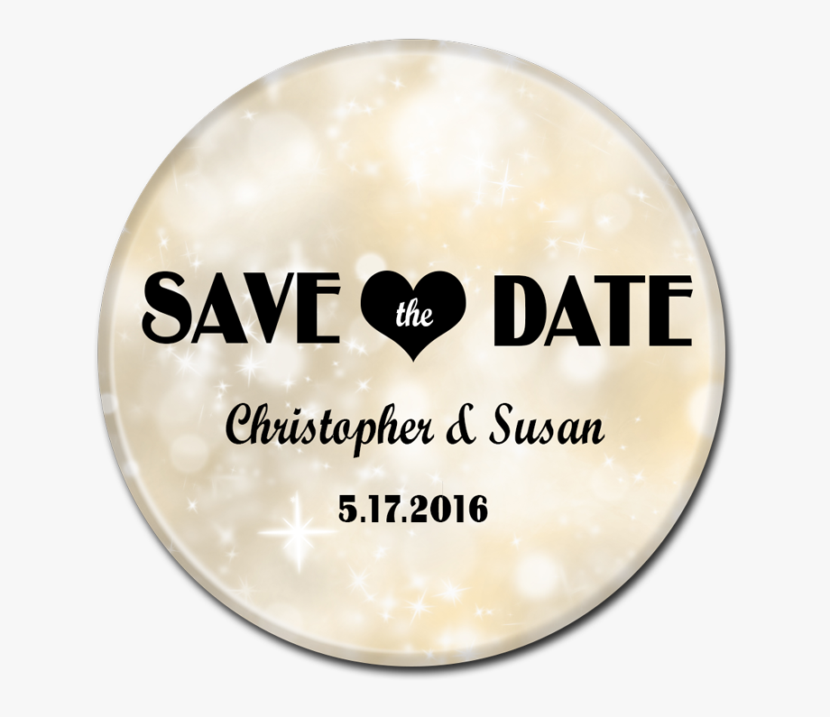 Save The Date Button.