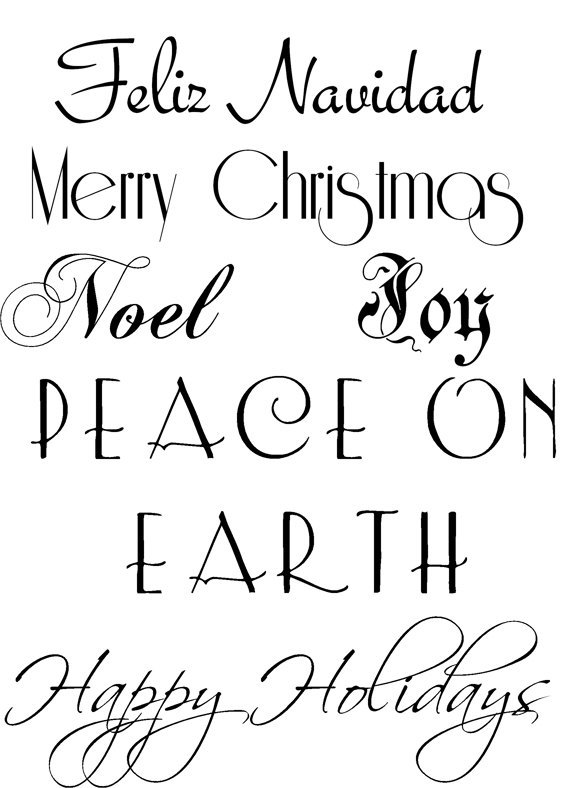 Christmas sayings clipart » Clipart Portal.