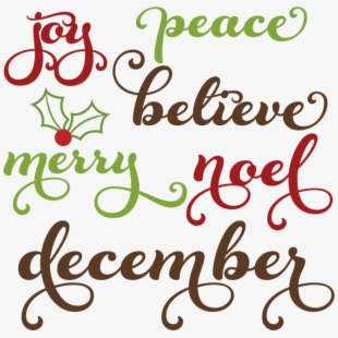 PNG Christmas Sayings Cliparts & Cartoons Free Download.