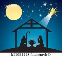 Nativity scene clipart free 1 » Clipart Station.