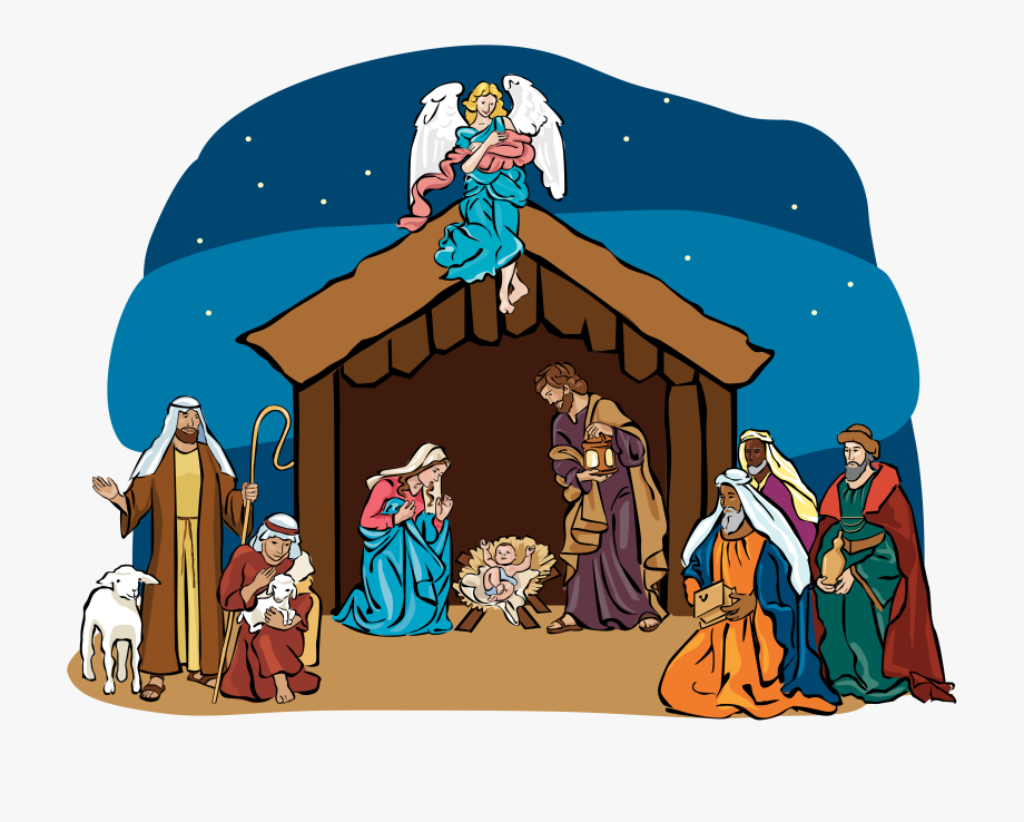 Magnificent Christmas Scenes Clipart.