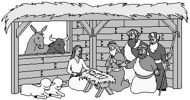 Free Religious Christmas Clipart.