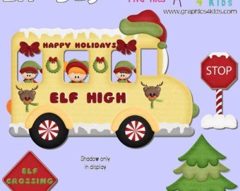 Christmas school bus clipart 6 » Clipart Portal.