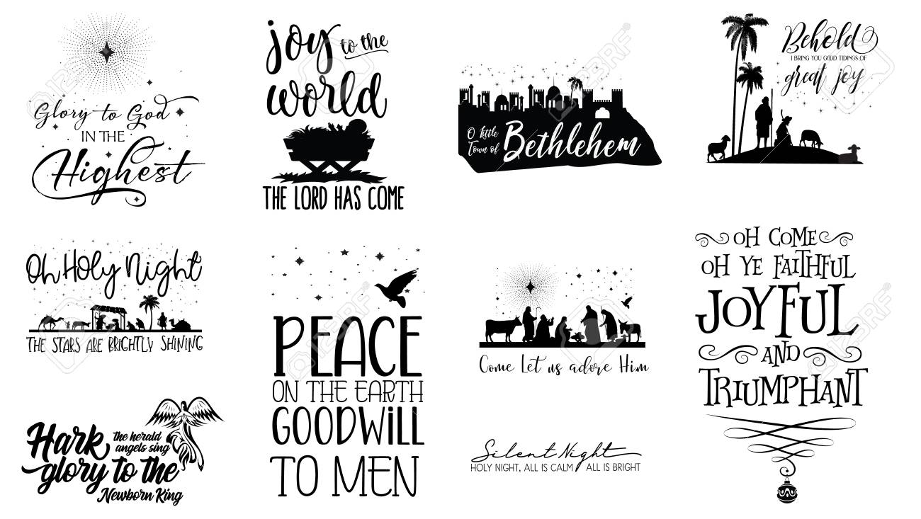 A collection of Christmas Scripture.