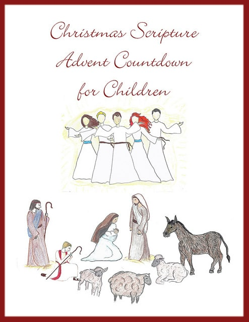 A Christmas Scripture Advent for Children.