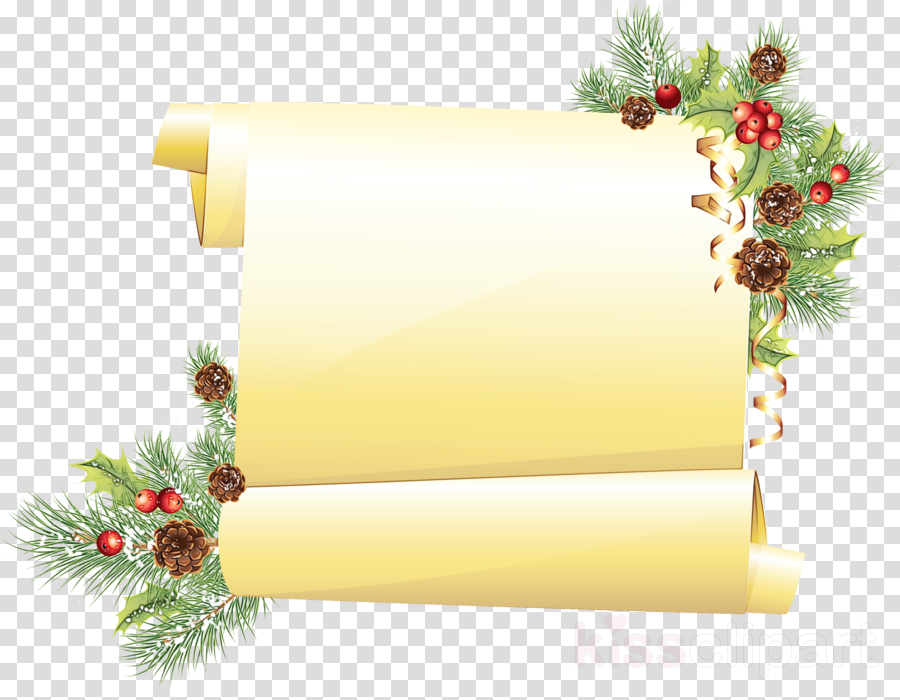 Christmas decoration clipart.