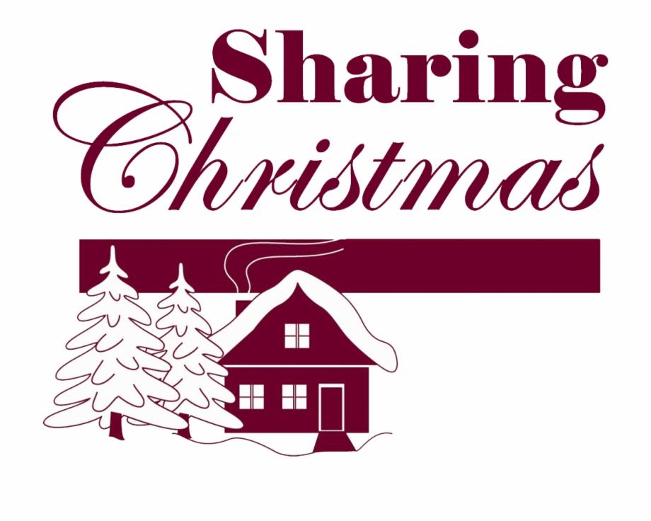 Sharing Christmas Logo Plain Transparent Png.