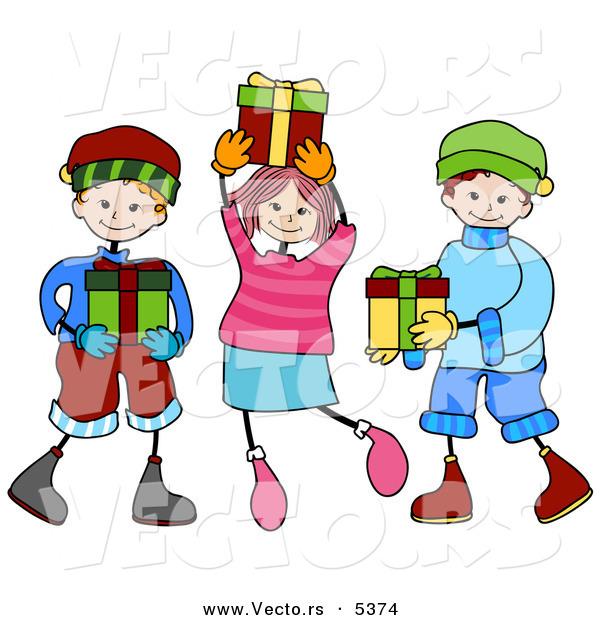 Christmas Clipart Kids.