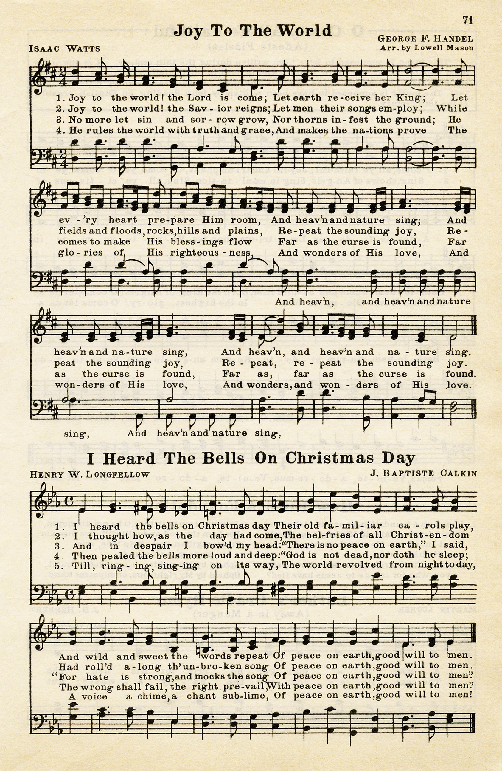 Clipart christmas sheet music.