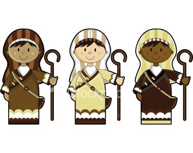 Nativity Shepherd Clipart.