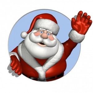 Showing post & media for Cartoon santa saying shh.