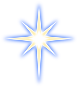 975 Christmas Star free clipart.