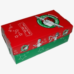 Operation Christmas Child Shoebox Clipart , Transparent Cartoon.